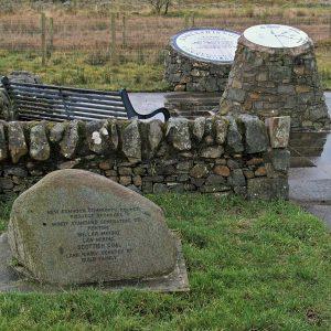 Memorials to the Knockshinnoch mining disaster